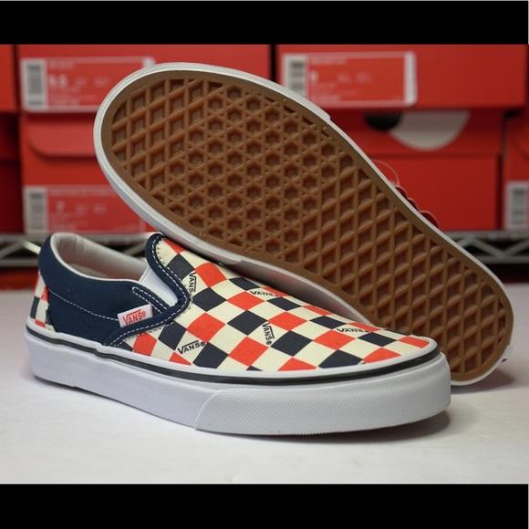 Vans Shoes | Vans Slip On Us Open Navy